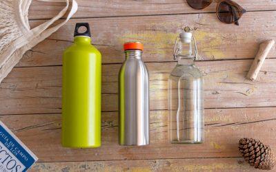 bouteilles réutilisables