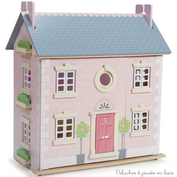 le-toy-van-la-maison-laurier-maison-de-poupée-en-bois